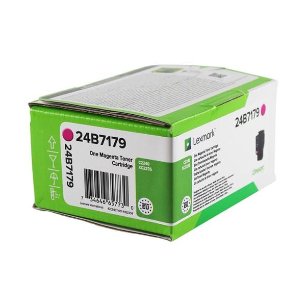 LEXMARK 24B7179 Tonerkassette Magenta 6.000 Seiten