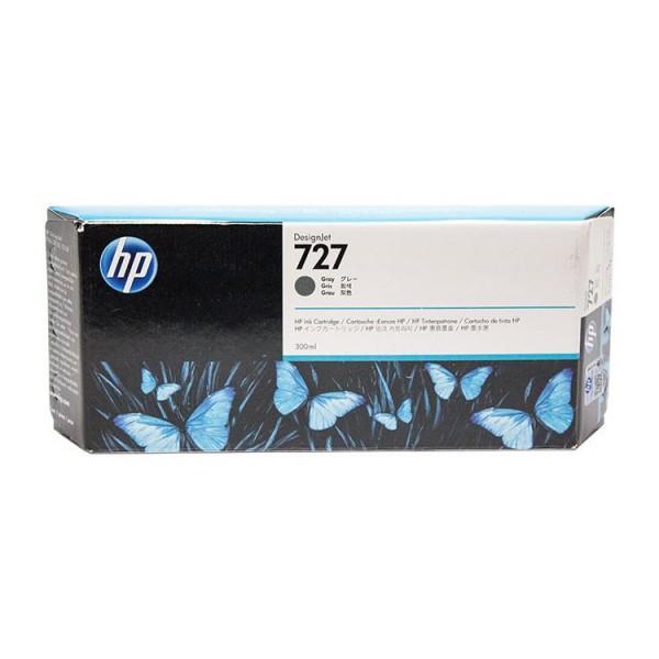 HP 727 300-ml Tintenpatrone Grau