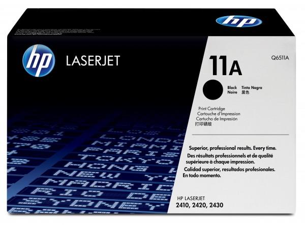 HP 11A LaserJet Original Toner schwarz Standardkapazität 6.000 Seiten
