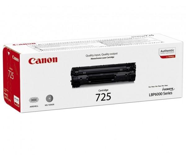 CANON CRG-725 Toner schwarz Standardkapazität 1.600 Seiten