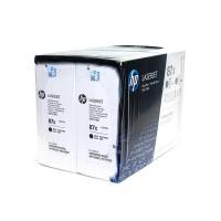 HP 87X Original LaserJet Toner Schwarz hohe Kapazität (Dualpack)