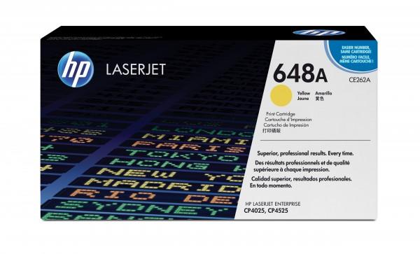 HP 648A Color LaserJet Original Toner gelb Standardkapazität 11.000 Seiten
