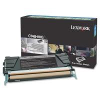 LEXMARK C746, C748 Toner schwarz Standardkapazität 12.000 Seiten  - return program