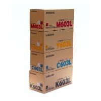 SAMSUNG CLT-603L Toner-Set (Schwarz,Magenta,Yellow,Cyan) für ProXpress C4010 ND