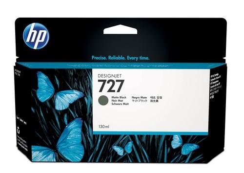 HP 727 Original Tinte matt schwarz Standardkapazität 130 ml