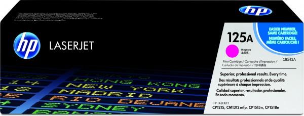 HP 125A Colour LaserJet Original Toner magenta Standardkapazität 1.400 Seiten