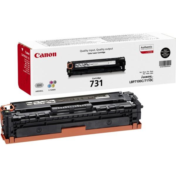 CANON 731-BK Toner schwarz Standardkapazität 1.400 Seiten