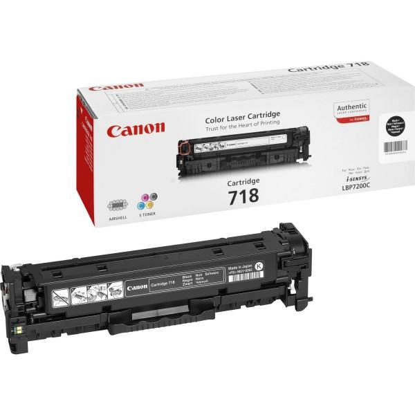 CANON 718 Toner schwarz Standardkapazität 3.400 Seiten