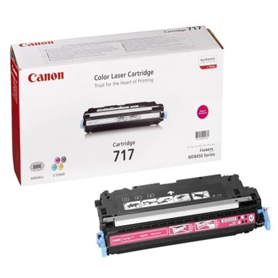 CANON 717 Toner magenta Standardkapazität 4.000 Seiten