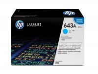 HP 643A Colour LaserJet Original Toner cyan Standardkapazität 10.000 Seiten