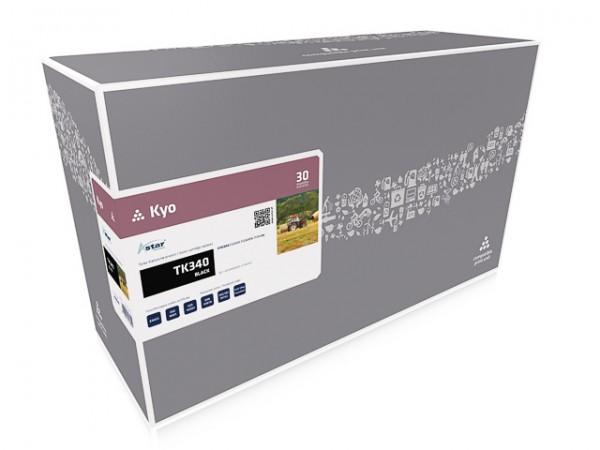 Astar Tonerpatrone Schwarz entspricht Kyocera TK-340BK 12.000 Seiten