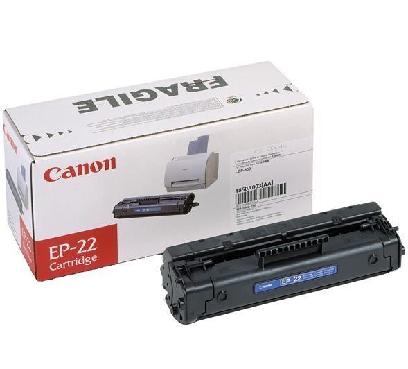 CANON EP-22 Toner schwarz Standardkapazität 2.500 Seiten