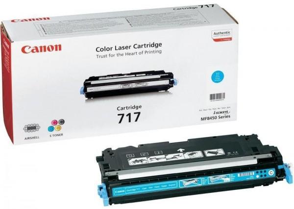 CANON 717 Toner cyan Standardkapazität 4.000 Seiten
