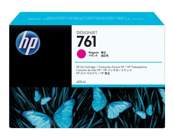 HP 761 Original Tinte magenta 400ml