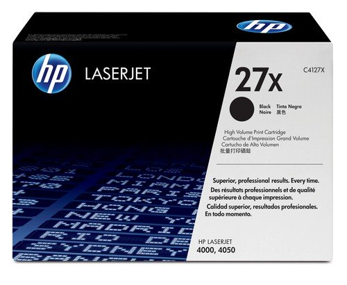 HP 27X LaserJet Original Toner schwarz 10.000 Seiten