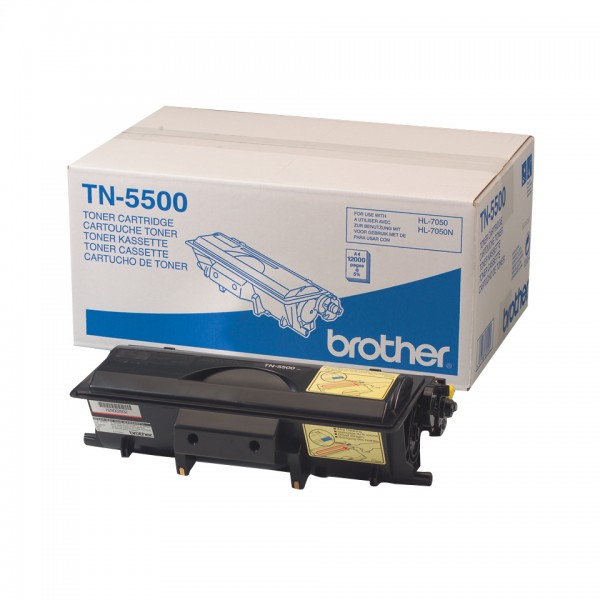 BROTHER TN-5500 Toner schwarz Standardkapazität 12.000 Seiten