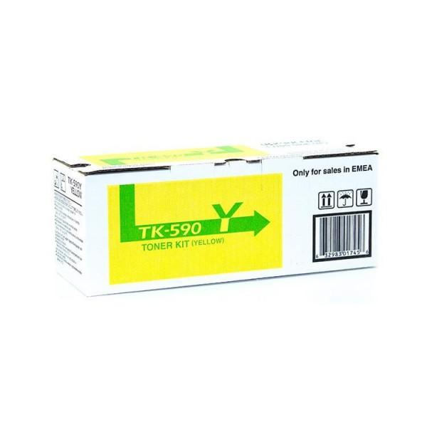 KYOCERA TK-590Y Toner gelb für ca.5000 Seiten